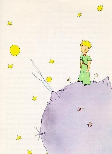 The Little prince and stars